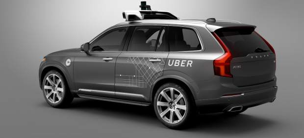 Volvo XC90 modificado por Uber