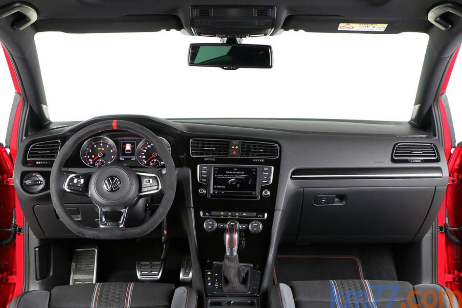 Aspecto interior del Volkswagen Golf GTI Clubsport
