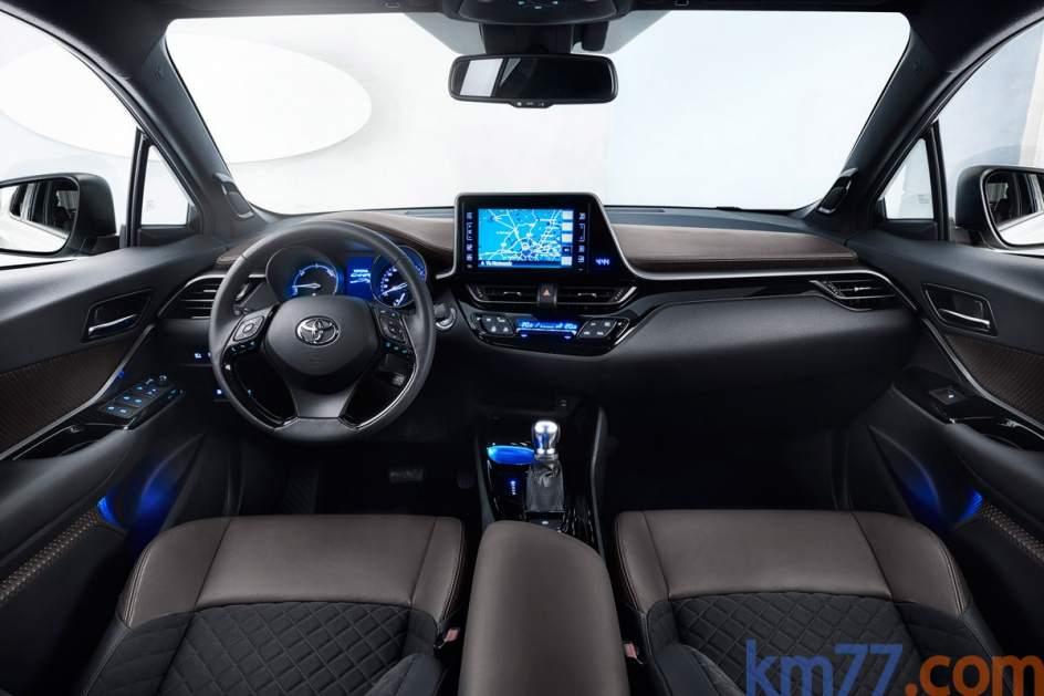Aspecto interior del Toyota C-HR