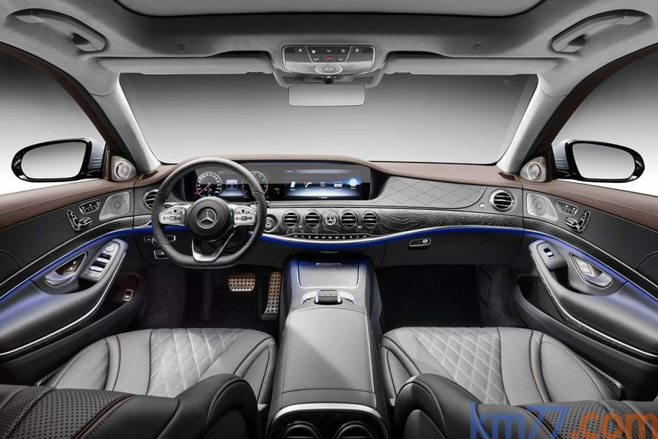 Aspecto interior del Mercedes-Benz Clase S