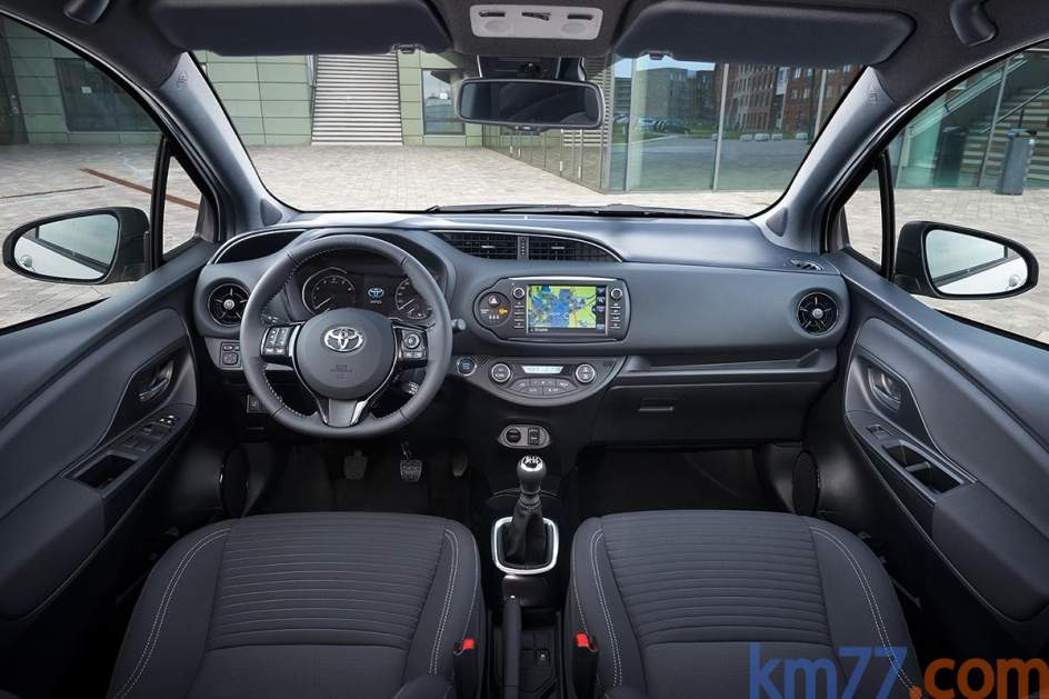 Aspecto interior del Toyota Yaris