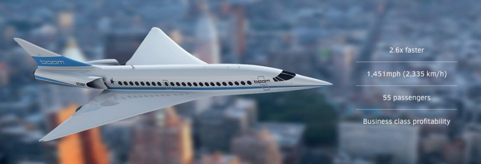 Grafico Boom Supersonic