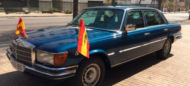 Mercedes-Benz 450 SEL blindado