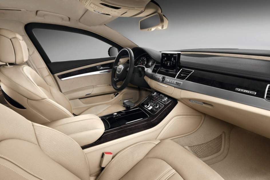 Interior del Audi A8 L Security
