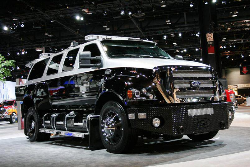 Ford F-650, 2008