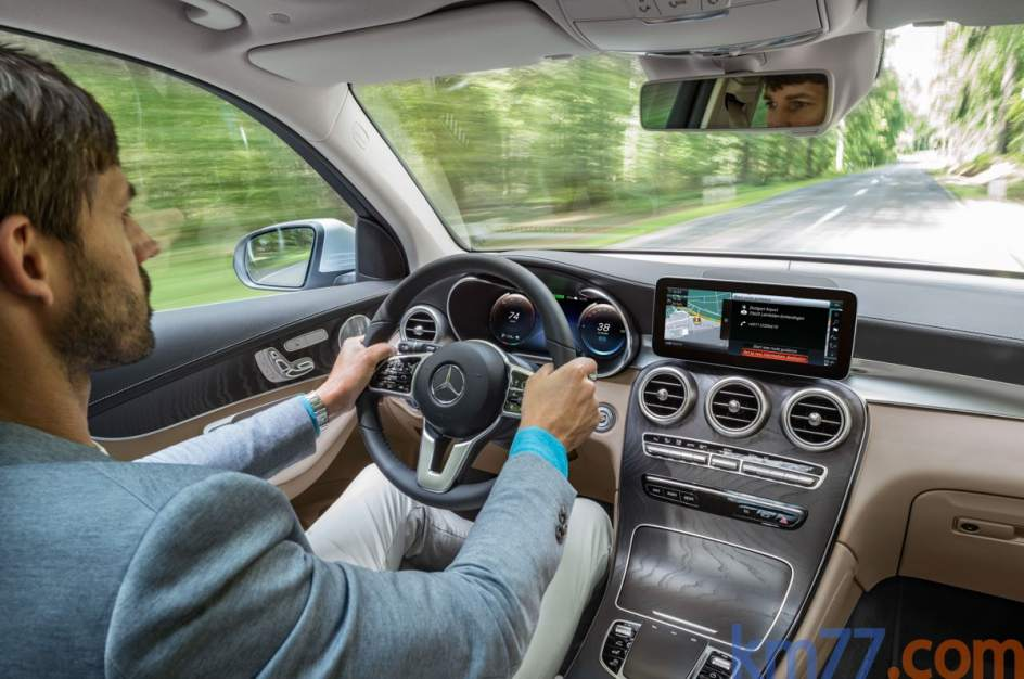 Interior del Mercedes-Benz GLC F-CELL